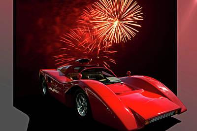 Photograph - 1974 Manta Sports Car by Tim McCullough