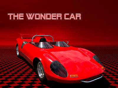Photograph - 1981 To 2006 Wonder Car by Tim McCullough