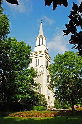 1st Presbyterian Church Art Print
