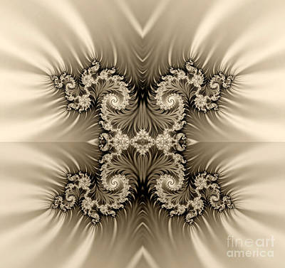 Clouds Rights Managed Images -  Fractal Royalty-Free Image by Odon Czintos