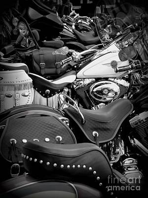 2 - Harley Davidson Series Art Print by Lainie Wrightson