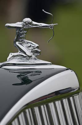 Photograph - 1935 Pierce-arrow 845 Coupe Hood Ornament by Jill Reger