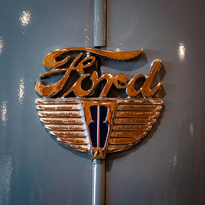 Fords Photograph - 1942 Ford Deluxe 2-door Club Coupe by David Patterson