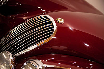 Vehicles Photograph - 1952 Jaguar Xk120 by David Patterson
