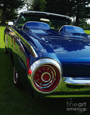 Photograph - 1963 Thunderbird Convertible by Peter Piatt