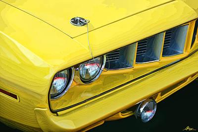 1971 Plymouth Cuda 440 Original by Gordon Dean II