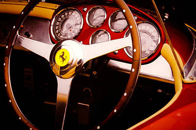 Outerspace Patenets Rights Managed Images - 1973 Ferrari Dino 246 GT Royalty-Free Image by David Patterson