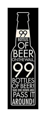 Digital Art - 99 Bottles Of Beer by Geoff Strehlow