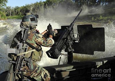 A Special Warfare Combatant-craft Art Print