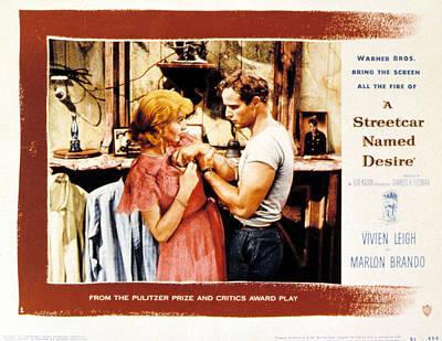 A Streetcar Named Desire, Vivien Leigh Art Print by Everett