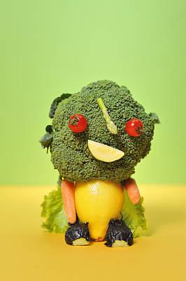 Y120907 Photograph - A Vegetable Doll by Yagi Studio