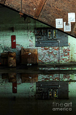Abandoned Factory Art Print by HD Connelly
