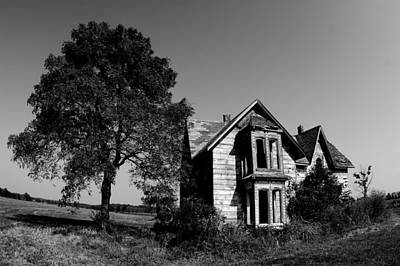 Rural Decay Photograph - Abandoned House by Cale Best