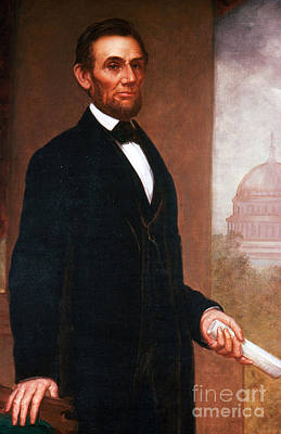 Abolition Photograph - Abraham Lincoln, 16th American President by Photo Researchers