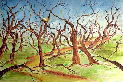 After Storm Art Print by Sumit Jain