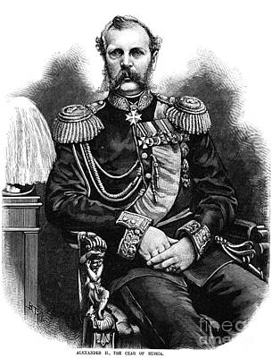 Alexander II (1818-1881) Art Print by Granger