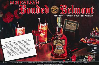 American Whiskey Ad, 1938 Art Print by Granger