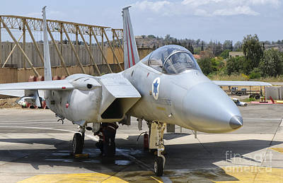 Firefighter Patents Royalty Free Images - An F-15c Eagle Baz Aircraft Royalty-Free Image by Giovanni Colla