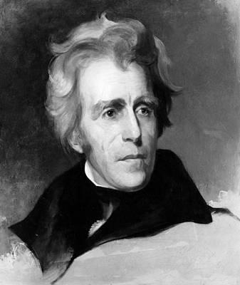 Sully Photograph - Andrew Jackson 1767-1845, U.s by Everett