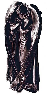 Angel Print by J erik Leiff