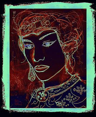 Angelica Art Print