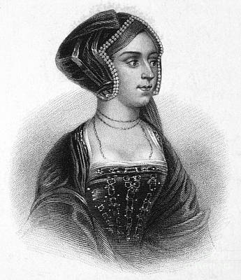 Anne Boleyn (1507-1536) Art Print by Granger