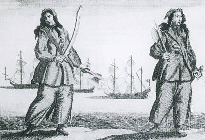 Rackham Photograph - Anne Bonny And Mary Read, 18th Century by Photo Researchers
