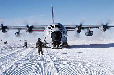 Antarctic Airfield Art Print
