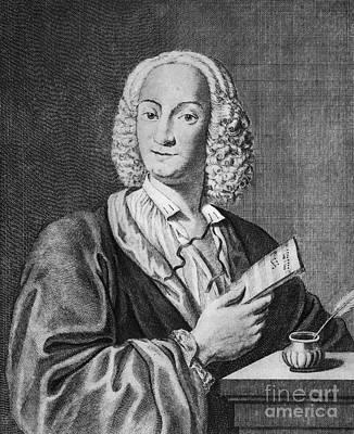 Antonio Vivaldi (c1675-1741) Art Print by Granger
