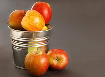 Food And Beverage Royalty-Free and Rights-Managed Images - Apples by Tom Gowanlock