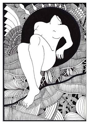 Art Art Print by Marek Burbul