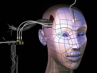 Processor Photograph - Artificial Intelligence, Artwork by Laguna Design