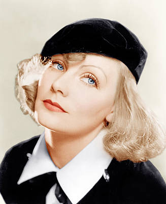 Incol Photograph - As You Desire Me, Greta Garbo, Portrait by Everett