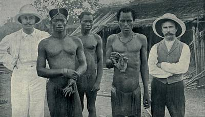 Atrocities Of The Rubber Slavery Art Print by Everett