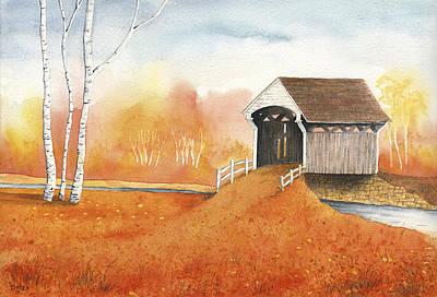 Autumn Color Art Print by Greg Dolan