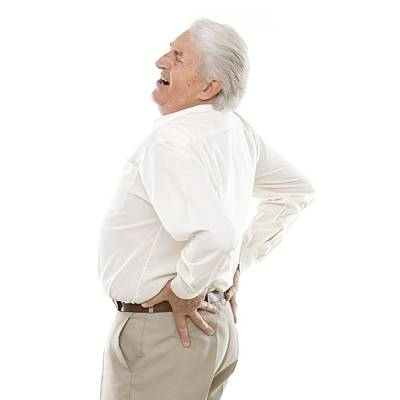 Button Down Shirt Photograph - Back Pain by