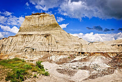 Beautiful Vistas Photograph - Badlands In Alberta by Elena Elisseeva
