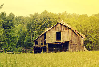 Photograph - Barn by Shelley Bain