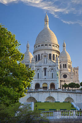 Basilique Du Sacre Coeur Art Print by Brian Jannsen