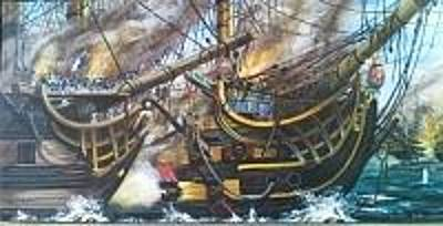 Painting - Battle Of Trafalgar by Rich Holden