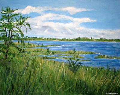 Painting - Bayville 1 by Clara Sue Beym
