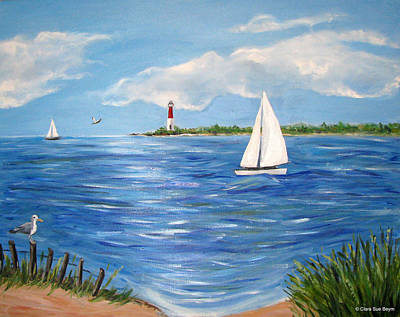 Painting - Bayville 3 by Clara Sue Beym