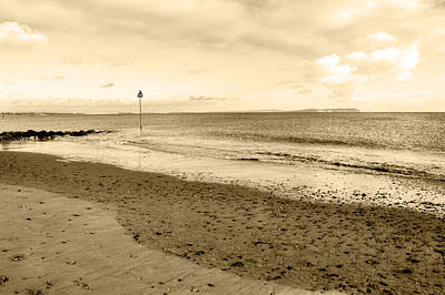 Photograph - Beach At Hengistbury Head by Chris Day