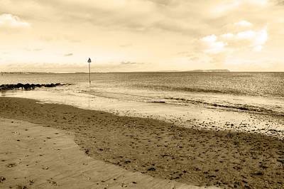 Photograph - Beach At Hengistbury Head by Chris Day