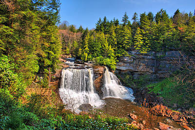 Photograph - Blackwater Falls Sp by Mary Almond