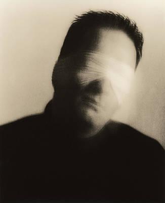 Blindfolded Man Art Print by Cristina Pedrazzini