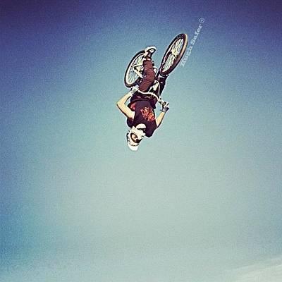 Extreme Sport Photograph - Bmx O Marisquiño 2011 #bmx by Hugo Sa Ferreira