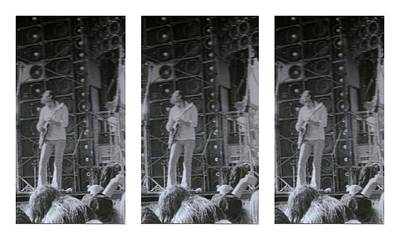 Photograph - Bob Weir Grateful Dead 74 Dsm Ia by Tim Donovan