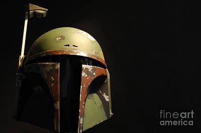 Jet Star Photograph - Boba Fett Helmet by Micah May