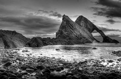 Bow Fiddle Rock Photograph - Bow Fiddle Rock by Wayne Molyneux